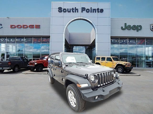 Pre-Owned 2018 Jeep Wrangler Unlimited Sport S | CERTIFIED | SOUTH POINTE DODGE