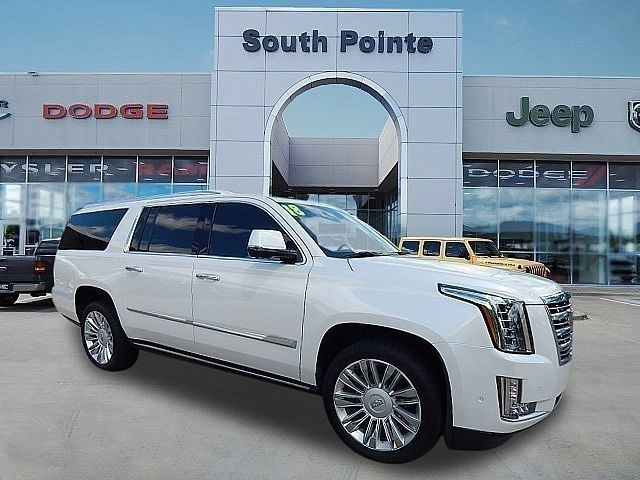 Pre-Owned 2018 Cadillac Escalade ESV Platinum | ONLY AT SOUTH POINTE CJD |