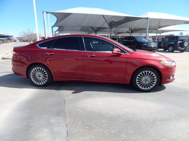 Pre Owned 2017 Ford Fusion Anium Leather Heated Seats