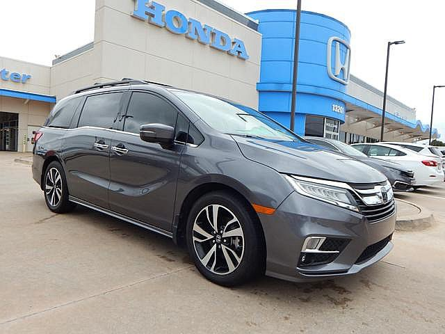 Southpoint Honda Tulsa >> Pre Owned 2018 Honda Odyssey Elite Bh Honda 405 753 8700 Front Wheel Drive Minivan Van Offsite Location