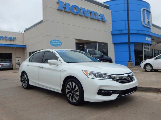 Pre Owned 2017 Honda Accord Hybrid Ex L Leather Sunroof