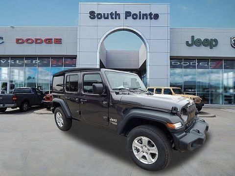 Certified Pre-Owned 2018 Jeep Wrangler Unlimited Sport S | CERTIFIED | SOUTH POINTE DODGE