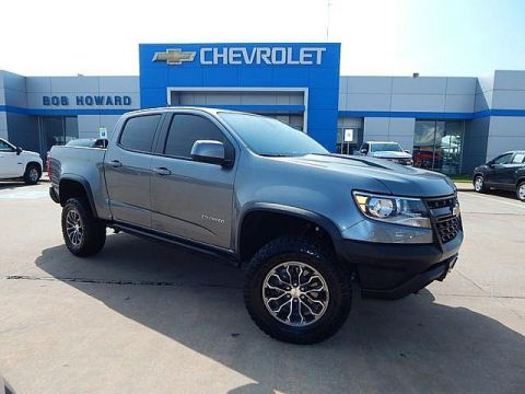 Pre-Owned 2018 Chevrolet COLORADO | BOB HOWARD CHEVROLET 405-748-7700 | 4WD | ZR2 | OFF ROAD CHAMP | LEATHER | BACK UP CAMERA | OFF ROAD SUSPENSION | CLEAN CAR FAX | ONE OWNER | HARD TO FIND | PREMIUM WHEELS |