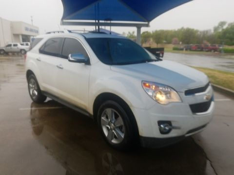 Pre-Owned 2013 Chevrolet Equinox LTZ***NAVIGATION***AWD***SUNROOF***SP CHEVY 918-481-8000