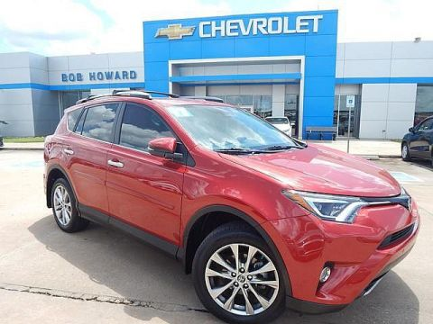 Pre-Owned 2017 Toyota RAV4 | BOB HOWARD CHEVROLET 405-748-7700 | LIMITED | AWD | CLEAN CAR FAX | LEATHER | NAVIGATION | BACK UP CAMERA |