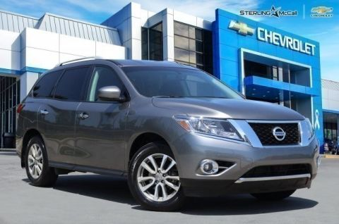 Pre-Owned 2016 Nissan Pathfinder SV***4WD***BACKUP CAMERA***PUSH BUTTON START***SP CHEVY 918-481-8000