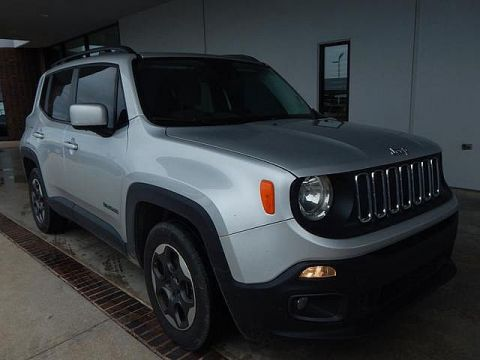 Pre-Owned 2015 Jeep Renegade Latitude | BOB HOWARD DODGE 405-936-8900 | LOW MILES | BACK UP CAMERA
