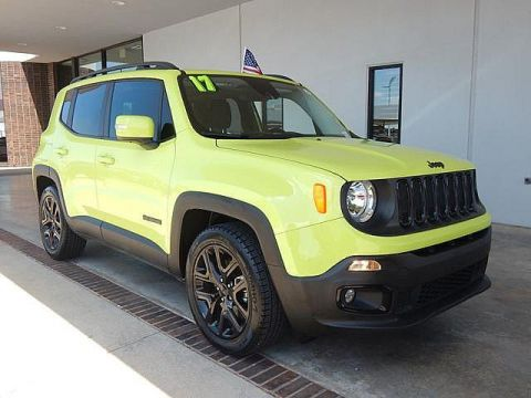 Pre-Owned 2017 Jeep Renegade Altitude | BOB HOWARD DODGE 405-936-8900 | CPO | LOW MILES